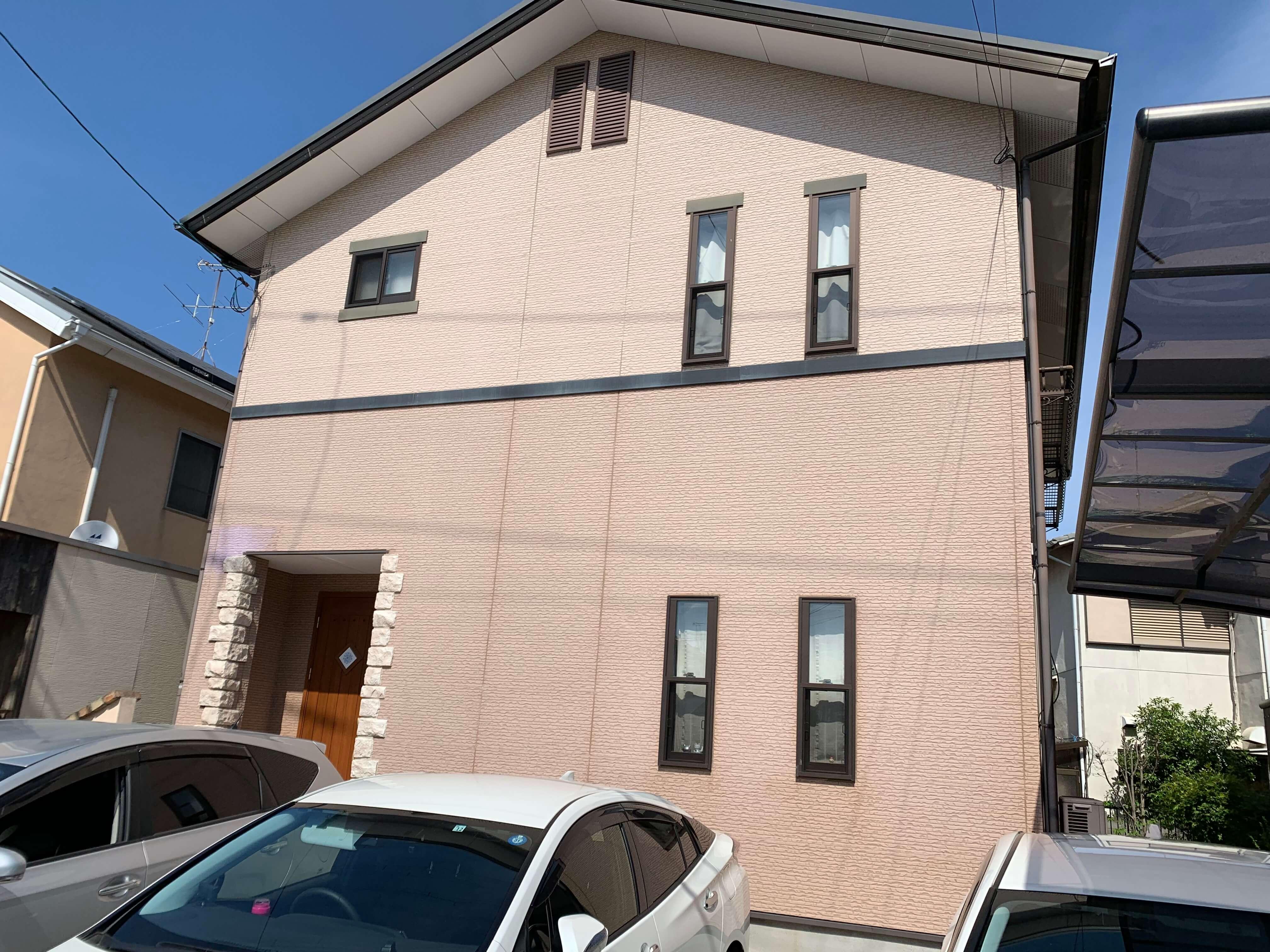 岡山市H様 外壁、屋根塗装工事