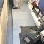倉敷玉島地区屋根塗装屋根塗装