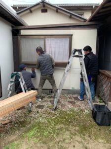 外壁板金工事