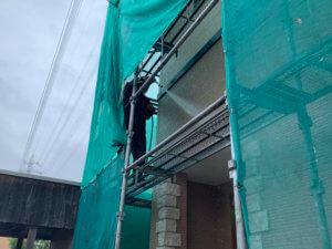 H様外壁屋根.水洗い