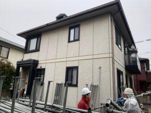 倉敷市新田地区T様 外壁屋根塗装工事